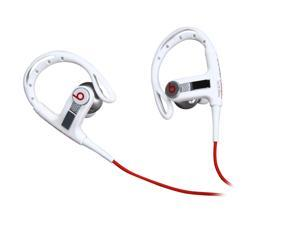 Beats by Dr. Dre White Powerbeats In-Ear Earphone with ControlTalk w/Sport Hook - Lebron James White