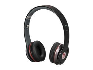 Beats by Dr. Dre Black Beats Solo HD On Ear Headphone with ControlTalk (Black)