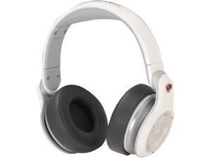 Monster White NCredible NPulse 3.5mm Connector Over-Ear DJ Headphone (White)