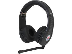 Monster Game 128974-00 MVP Carbon On-Ear Headset - Black
