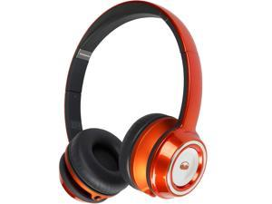 Monster Ncredible NTune On-Ear Headphone MH NTU ON C-TAN WW - Candy Tangerine Orange