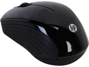 HP X3000 H2C22AA#ABL Black 3 Buttons 1 x Wheel USB RF Wireless Optical Mouse