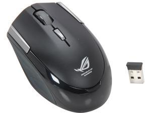 ASUS GX810 90-XB2G00MU00000- Black RF Wireless Laser Mouse