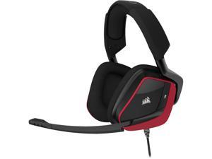 Corsair Gaming VOID PRO Surround Premium Gaming Headset with Dolby Headphone 7.1, Red