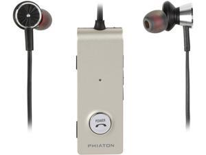 Phiaton BT 220 NC Bluetooth 4.0 Wireless Noise Cancelling In-Ear Headphones - Black