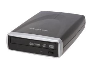 Pioneer USB 2.0 External 20X DVD-R Drive with LightScribe Model DVR-X152 LightScribe Support