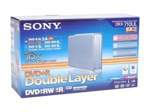SONY IEEE 1394 /  USB 2.0 External DVD Burner Model DRX710UL/T