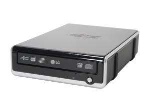 LG 2-Tone USB 2.0 External 16X Super Multi DVD Rewriter with LightScribe