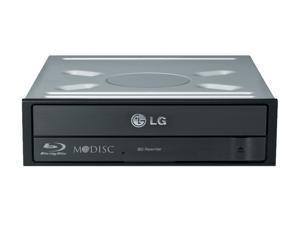 LG Black 14X BD-R 2X BD-RE 16X DVD+R 5X DVD-RAM 12X BD-ROM 4MB Cache SATA BDXL Blu-ray Burner, Bare Drive, 3D Play Back (WH14NS40) - OEM