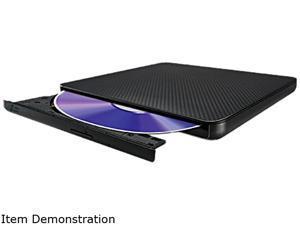 LG Ultra-Slim Portable DVD Burner & Drive with M-DISC Support Model SP80NB60