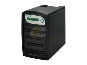 VINPOWER Black 1 to 3 CD/DVD Duplicator Model VP4690-OPT-3BK-250GB