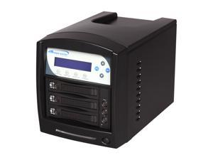 VINPOWER Black 1 to 2 128M DDR2 Buffer Memory Hard Drive Duplicator Model HDDShark-2T-BK