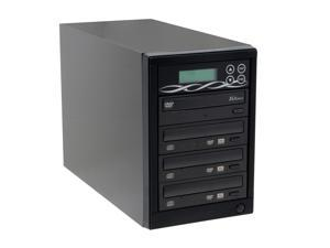 Spartan Black 1 to 3 DVD Duplicator W/ SONY Burner + 80GB + USB port Model DM-ILY-ADS163HU(B)BK