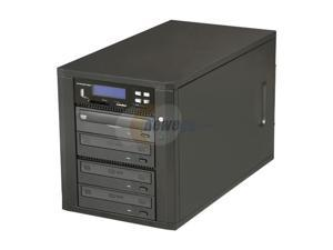 Spartan 1 to 3  All-in-One Backup Center 24X ( Multi-Media Duplicator)