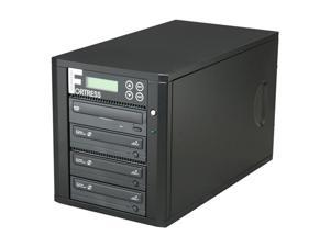 Spartan 3 Target Fortress 24X SATA Disc Copy Protection CD/DVD Duplicator Plus built-in 500GB HD and USB 2.0 Model D03-SSPDLPRO