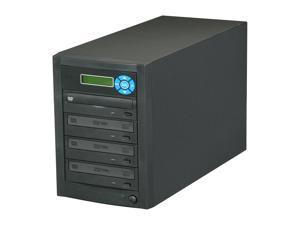 Spartan Black 1 to 3 CD/DVD Duplicator Model D03AOARBASPI