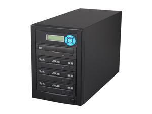 Express Series Black 1 to 3 Target CD/DVD Duplicator Model D03-ETNE