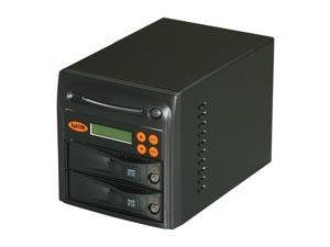 Systor Black 1 to 1 8M Buffer Memory Hard Drive / Solid State Drive (HDD/SSD) Duplicator (30MB/sec) - Tower Model SYS101HS