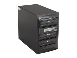 Systor Black 1 to 3 Blu-Ray Disc Duplicator + 500GB HDD + USB Connection Model SYS03BD