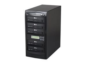 Systor Black 1 to 5 Blu-Ray Disc Duplicator + 500GB HDD + USB Connection Model SYS05BD