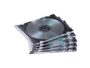 Fellowes 98335 NEATO Slim CD/DVD Jewel Cases - 100 Packs - OEM