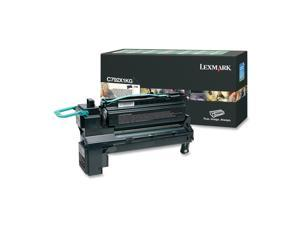 Lexmark C792X1KG Extra High Yield Return Program Toner Cartridge - OEM