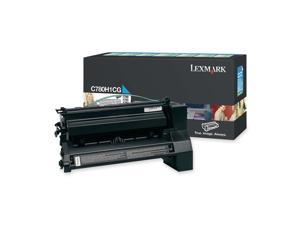 Lexmark Extra High Yield Cyan Toner Cartridge for C782n, C782dn, C782dtn and X782e Printers
