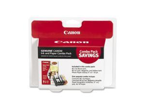 Canon 4479A292 BCI 3e BCI 6 Cartridges and Glossy Photo Paper