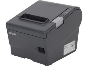 Epson C31CA85A6351 TM-T88V POS Thermal Receipt Printer - Gray, WiFi, IEEE 802.11A/B/G/N WPA&#59; W58, External Power Supply (PS-180)