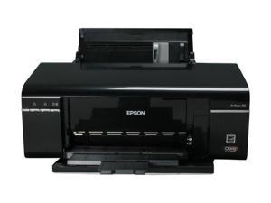 EPSON Artisan 50 Up to 37 ppm Black Print Speed 5760 x 1440 dpi Color Print Quality InkJet Personal Color Printer