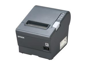 Epson C31CA85084 TM-T88V POS Direct Thermal Receipt Printer - USB and Serial Interface, Gray