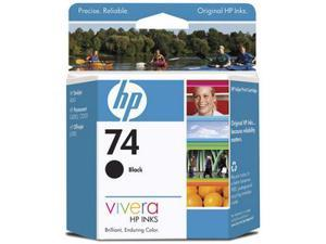 HP 74 Black Ink Cartridge(CB335WN#140)