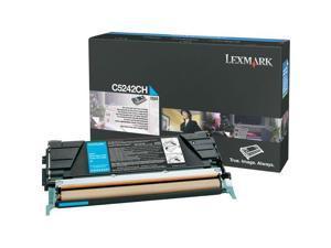 LEXMARK C5242CH High Yield Toner Cartridge Cyan