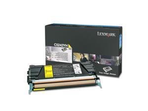 LEXMARK C5242YH High Yield Toner Cartridge Yellow