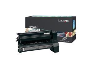 LEXMARK C7700KH High Yield Return Program Print Cartridge Black