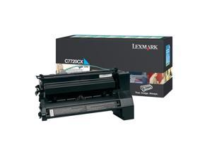 LEXMARK C7720CX Extra High Yield Return Program Print Cartridge For C772 Cyan