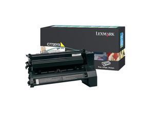 LEXMARK C7720YX Extra High Yield Return Program Print Cartridge For C772 Yellow