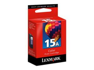 Lexmark 18C2100 #15A Color Print Cartridge for Z2300, X2600, X2670