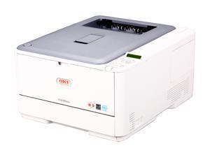 OKIDATA C530dn Workgroup Up to 31 ppm Color LED Network Printer (62435203)