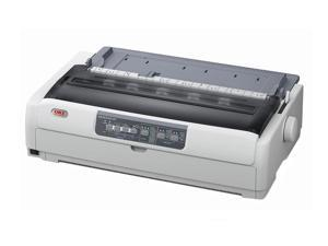 OKIDATA MICROLINE 691 (62434101) - Parallel, USB 24 pin 120V 360 x 360 Dot Matrix Printer
