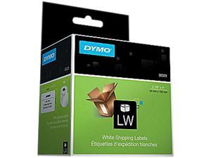 DYMO 30323 Shipping Labels, 2-1/8 x 4, White, 220/Box