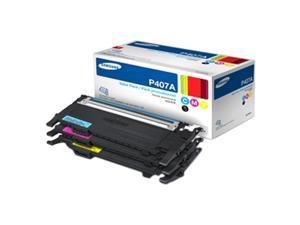 SAMSUNG CLT-P407A Toner for CLP-325W, CLX-3185 cyan, magenta, yellow