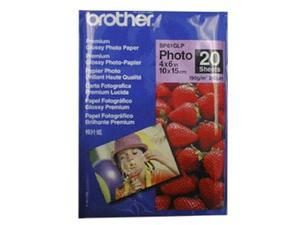 "brother Innobella BP61GLP 4"" x 6"" 20 Sheets Premium Glossy Photo Paper"