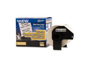 "brother DK1240 1.9 "" x 4 "" 600 Labels Multi-purpose Label"