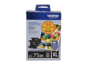 Brother LC752PKS High Yield Innobella Ink Cartridge - Dual Pack - Black