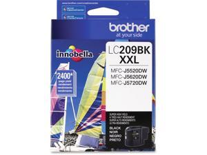 brother LC209BK Super High Yield Ink Cartridge For MFCJ5720DW Printer Black