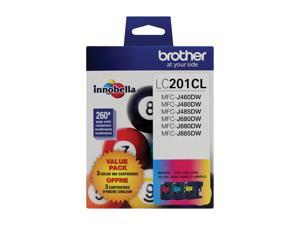 brother LC2013PKS C/M/Y - 3 Pack Ink 3 Colors (Cyan, Magenta, Yellow)