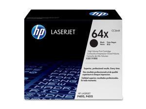 HP 64X Black High Yield LaserJet Print Cartridge (CC364X)