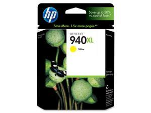 HP 940XL High Yield Yellow Ink Cartridge (C4909AN#140)
