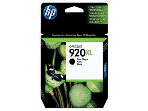 HP 920XL High Yield Black Ink Cartridge(CD975AN#140)